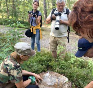 Romualda Žičkienė, Nature Guide Litauen, Kurische Nehrung, Tour