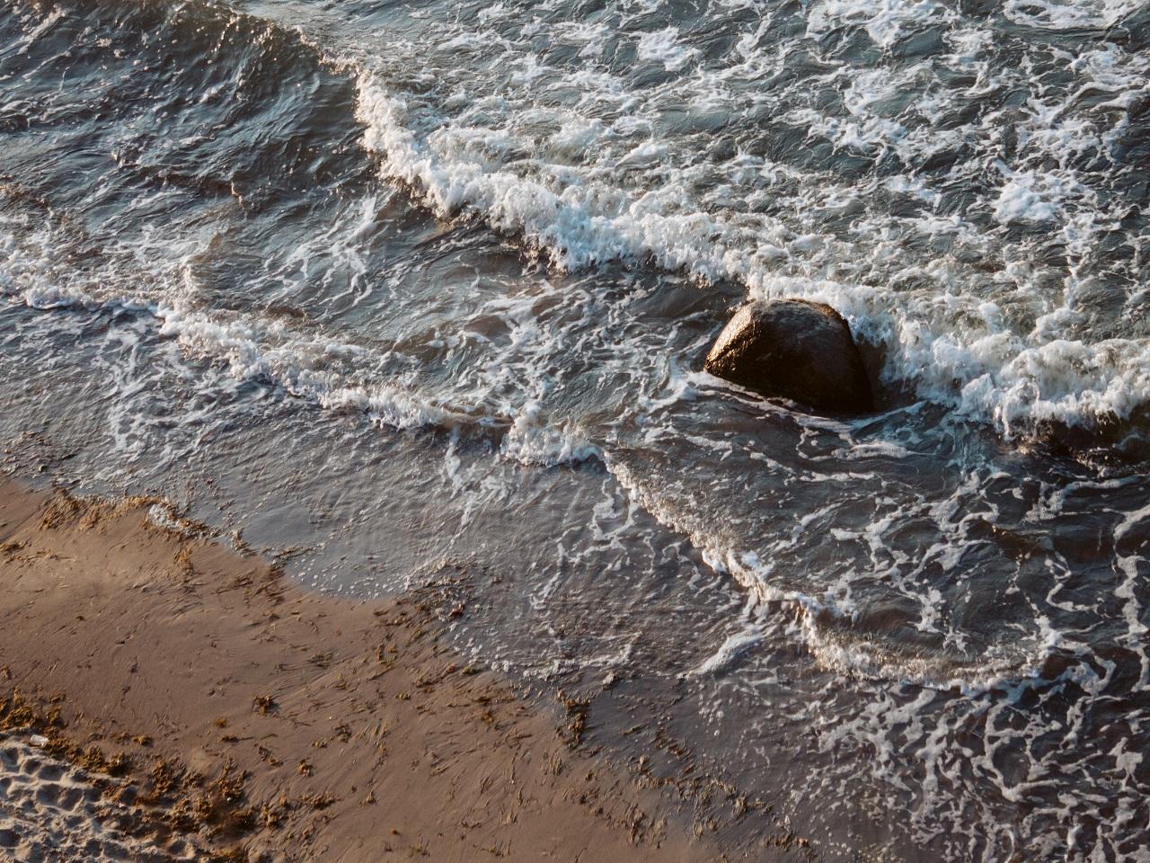 Wasserrauschen, Ostsee, Philipp Deus, Unsplash