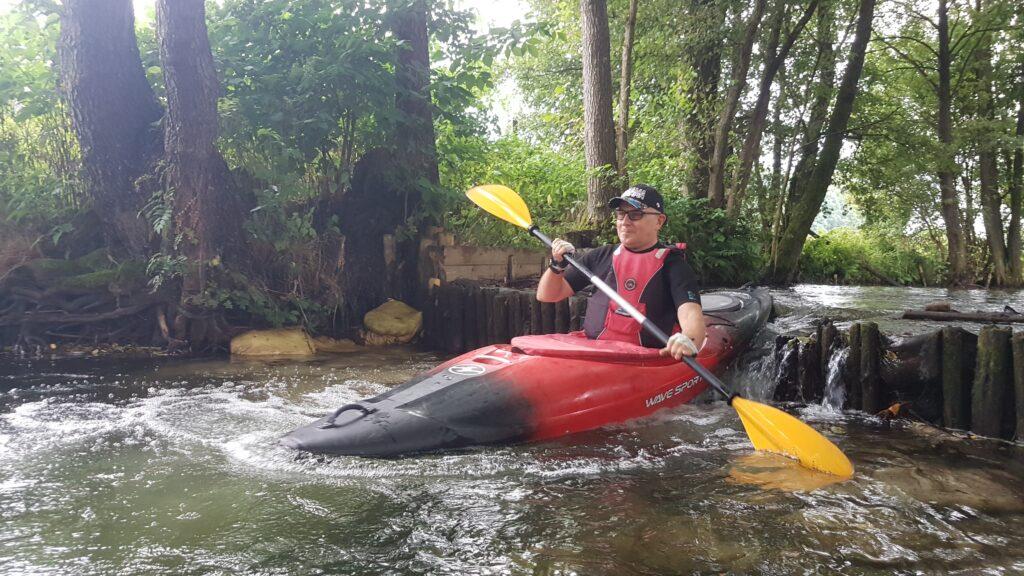 Michal Kulesza, Hand in Hand, Kayak rental in Poland