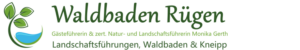 Logo Waldbaden Rügen, Monika Gerth