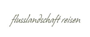Frauke Bennett, flusslandschaft reisen Logo