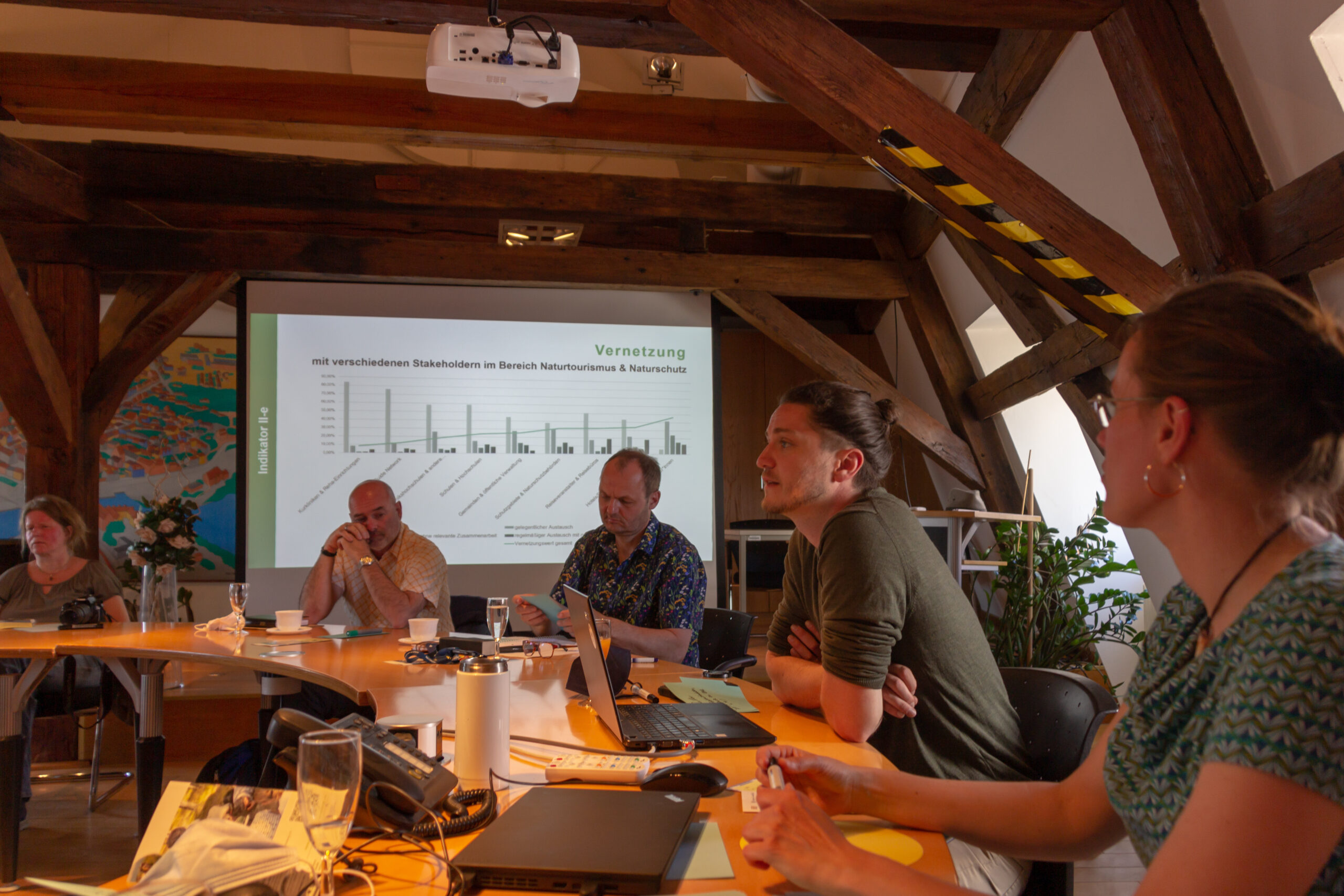 Arbeits- und Netzwerktreffen in Wolgast, Simon Reuter