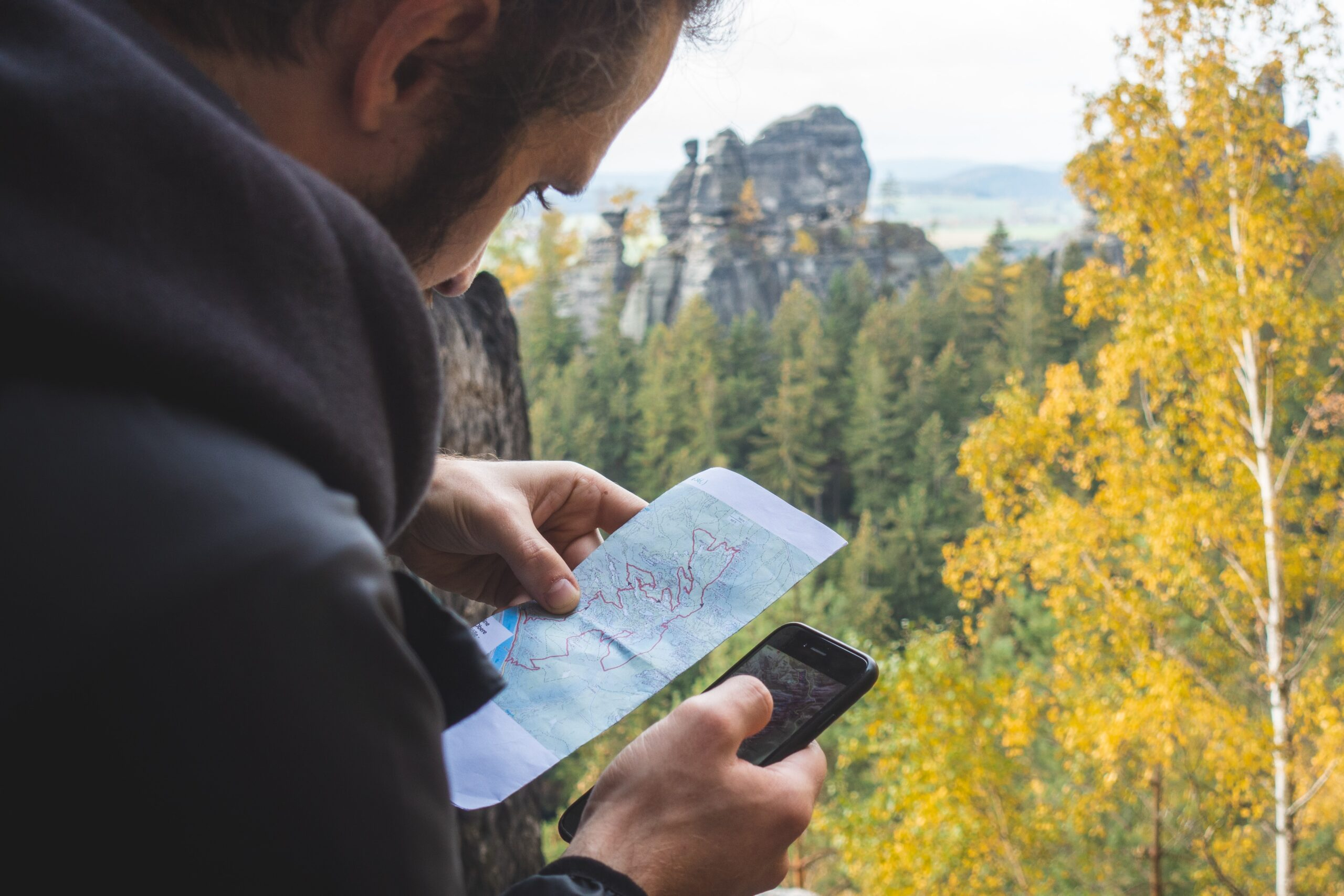 Travel App oder Landkarte?